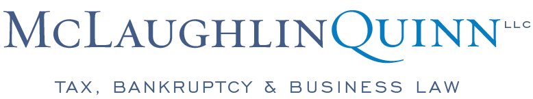 McLaughlinQuinn LLC - Rhode Island, Boston Law Firm - Tax Planning & Resolution, IRS, Bankruptcy, Business