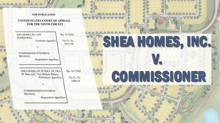 shea homes v commissioner